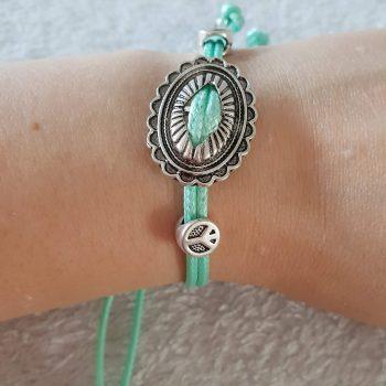 Mint Peace Armband 2