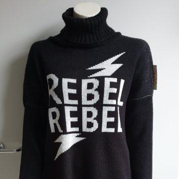 rebel trui zwart