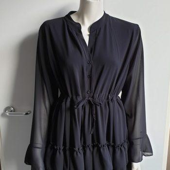 merel jurk zwart