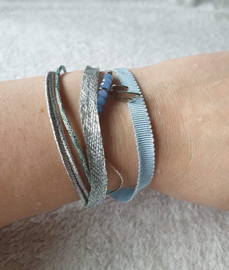 armband cactus blauw