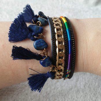 kwastjes armband