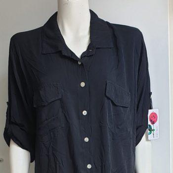 bobby blouse lang zwart