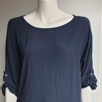 wendy top blauw